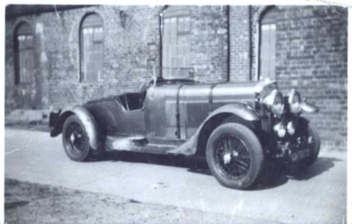 Talbot 90 GN 5872 VSCC Shenton Collection